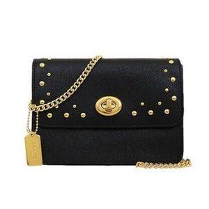 Coach Bowery Crossbody Chain Bag with Stud Rivets